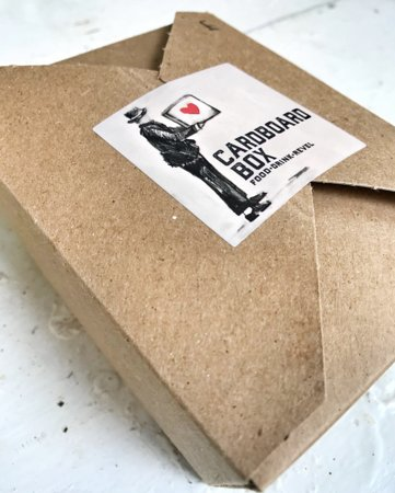 The Cardboard Box: To-go