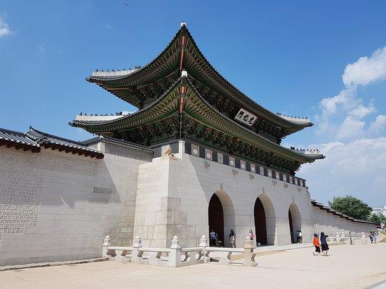 Gyeongbokgung Palace: Entrance