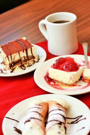 Tony's Pizza & Italian Restaurant: Desserts