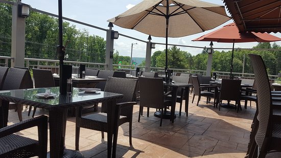 Drums, PA: Sunny Day on the Patio
