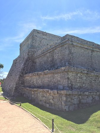 Руины майянского города Тулума: Mayan ruins of Tulum