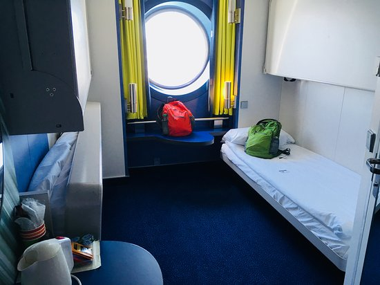 Brittany Ferries: Cabin On board the Amourique Ferry