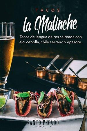 Santo Pecado Restaurante: Nos esmeramos en tener todo de gran calidad, los comentarios es que son los mejores Tacos de Len