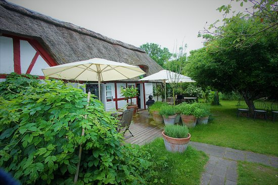 Rogeri Hindsholm: No inside seating - only garden views! But more than excellent!