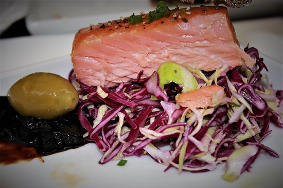 Rogeri Hindsholm: Salmon from Great Belt is absolut a topper.