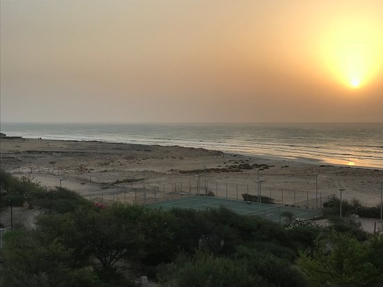 Duqm, Oman: View from hotel