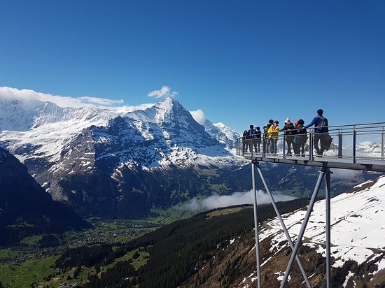 Mt First Admission in Grindelwald: First Cliff Walk