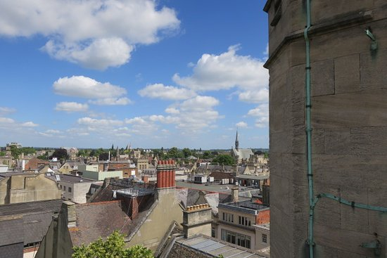 View from top of Carfax tower.