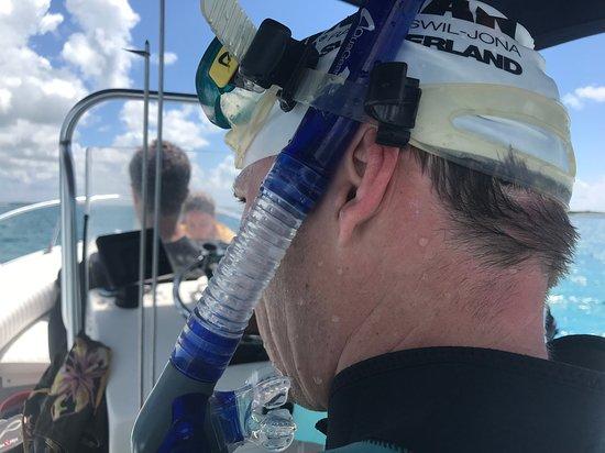 Captain Jimmy Tours: Ready to dive