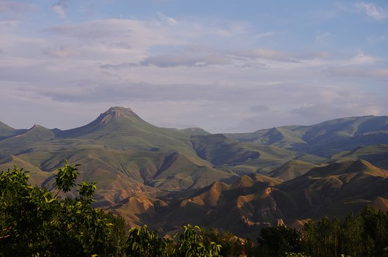 Yeghegnadzor, Armenia: a view from the terrace