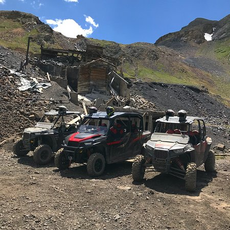 Rock Pirates Backcountry Adventures: Excellent guides, awesome tours off road and on road. The Alpine Loop on a RZR was incredible an