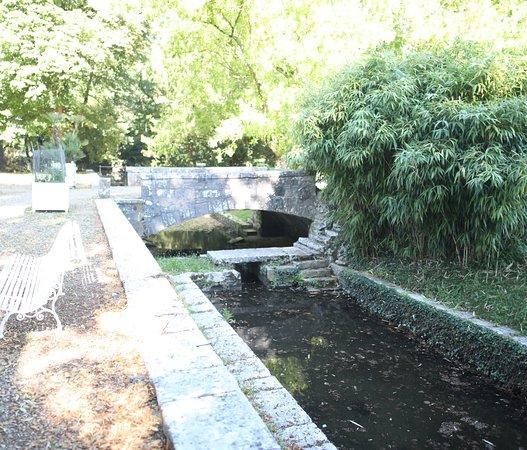 Chateau De Germolles: L'intérieur du château, le parc est très joli