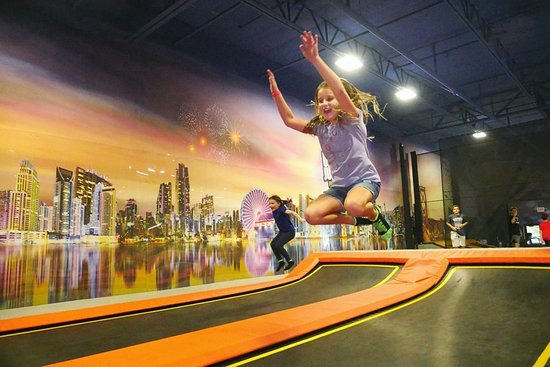 Uptown Jungle Fun Park: Our indoor trampoline park is a great place to let go of some energy. - Peoria