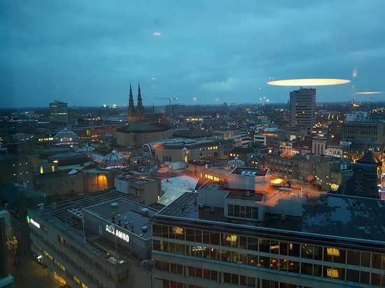 VANE Restaurant: Uitzicht over Eindhoven