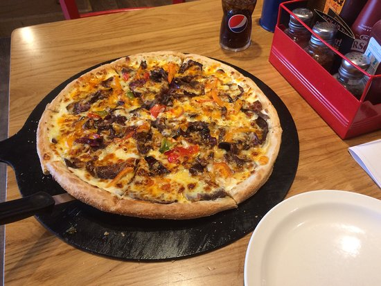 Pizza Hut: American Individual Philly Cheese Steak £12.99 as at June 2018