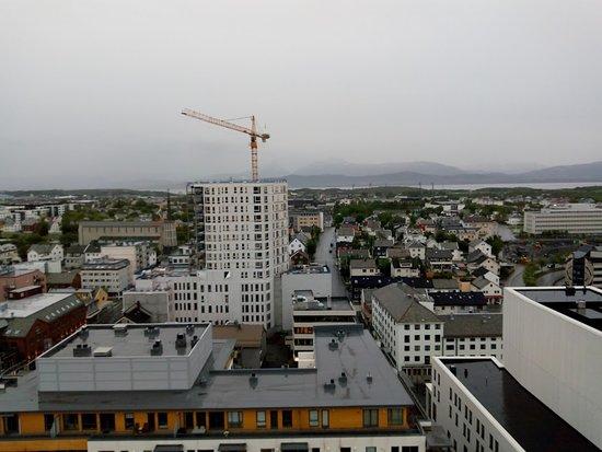 Roast Restaurant og Bar Bodø: Panorama dalla terrazza