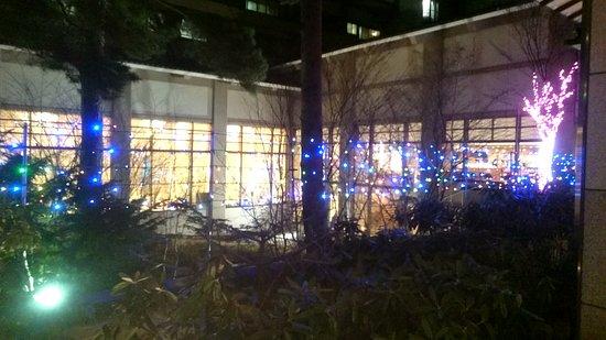 Hotel Sakurai: ホテル外観夜