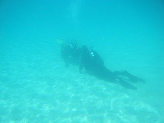 Lanzarote Non Stop Divers: bouyancy takes practice
