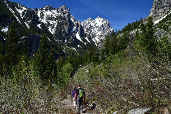 Cascade Canyon Trail: Entering Cascade Canyon