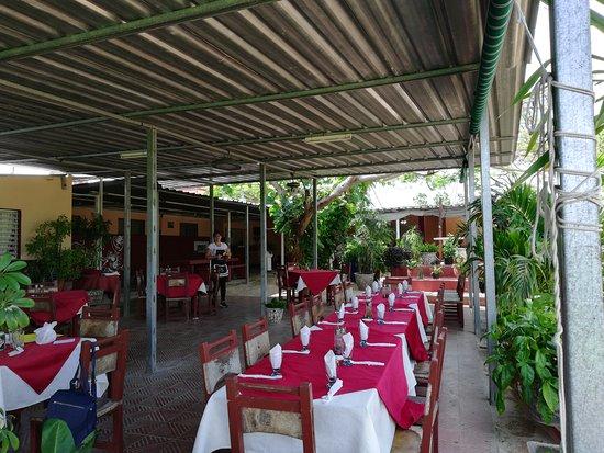 Caimito, Cuba: Area techada