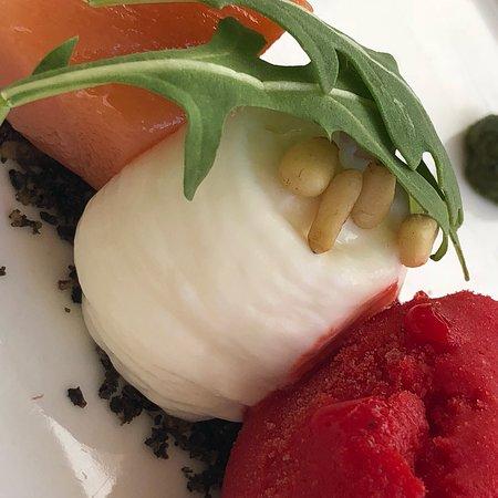 Sopranis: Scallops & Foie, Salad capresse
