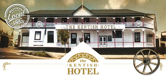 The Kentish Hotel Restaurant: The Oldest Continous Licensed Hotel in New Zealand
