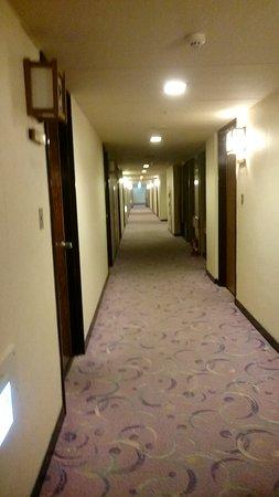Hotel Sakurai: ホテル内廊下