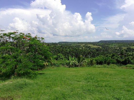 Caimito, Cuba: Paisaje desde la terraza posterior