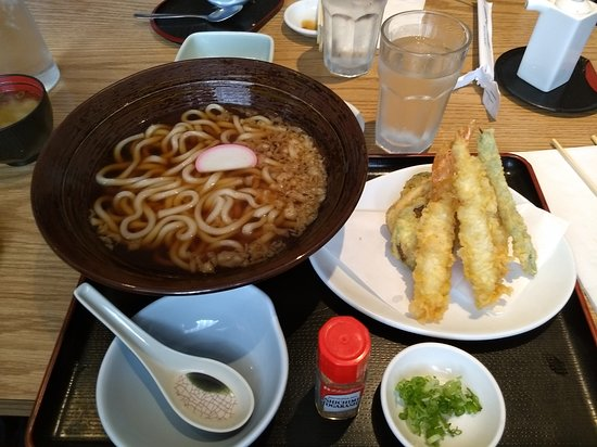 Stanton, Kalifornien: Udon Soup and Tempura