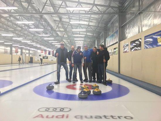 Indoor Curling Rink Photo
