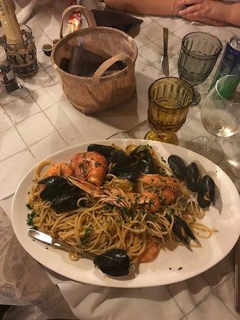 Virgilio, Italien: Spaghetti allo scoglio
