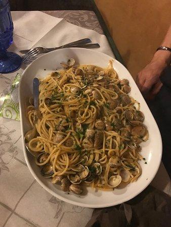 Virgilio, Italien: Spaghetti alle vongole