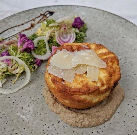 Loluk Bistro: Double cheese soufflé