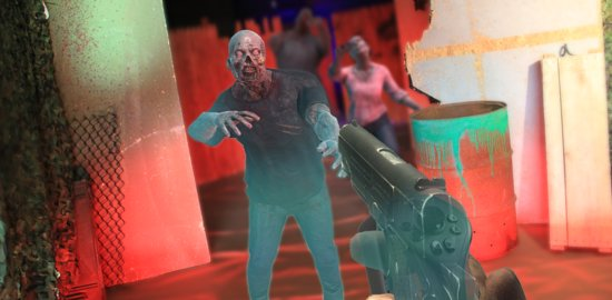 Cambridge, MA: Battle hordes of holographic zombies with an arsenal of virtual weapons.