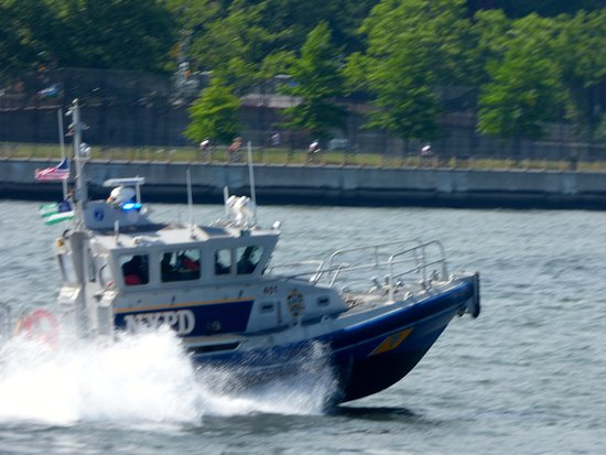 NYC Ferry: East River Route - NYPD protecting is all!