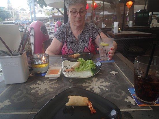 Little Saigon: Our prawn rolls