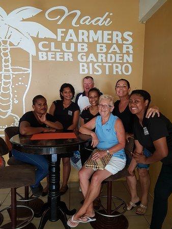 The New Nadi Farmers Club: Nadi Farmers team with guests