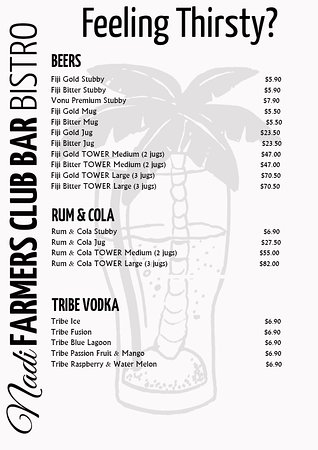 The New Nadi Farmers Club: Nadi Farmers Bar, The Beers are Icy Cold at FARMERS