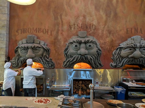 The Pizza Ovens At Via Napoli Picture Of Via Napoli Ristorante E Pizzeria Orlando Tripadvisor