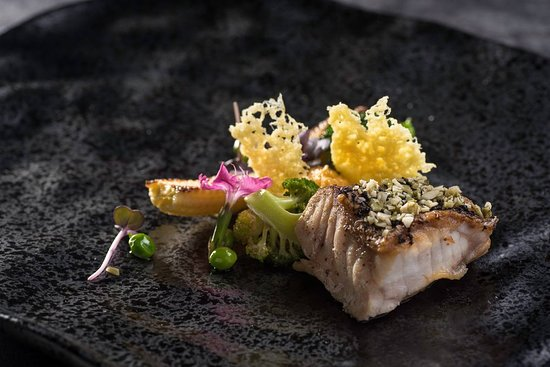 Orinea by Farquhar Mansion: Steamed Grouper