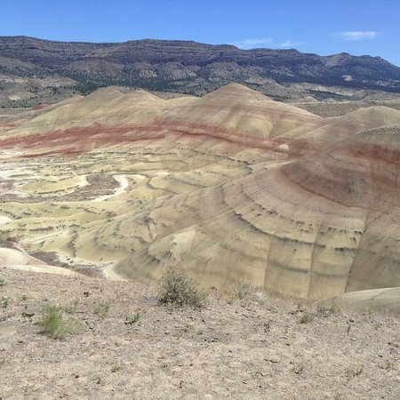 John Day Fossil Beds National Monument: Best view from trail
