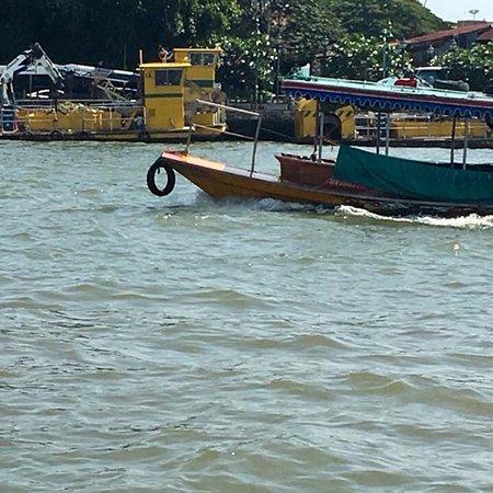 Chao Phraya River: Chao Phraya Cruise.. view from the cruise boat