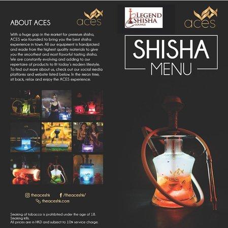 Legends of India: Shisha Menu-1