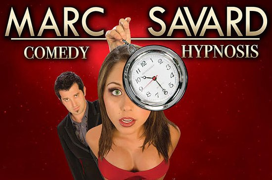 Marc Savard Comedy Hypnosis at Planet...
