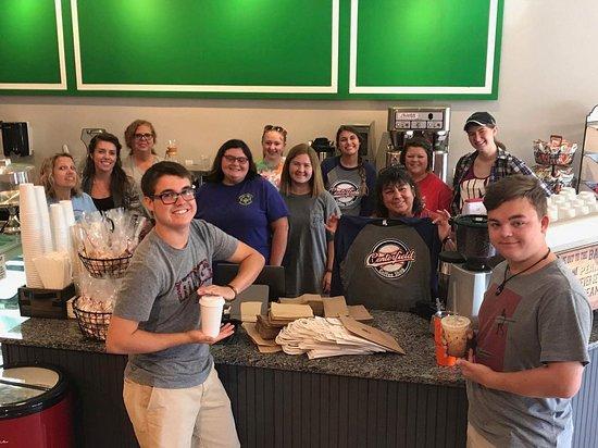 Royston, GA: The Centerfield Coffee Shop Team
