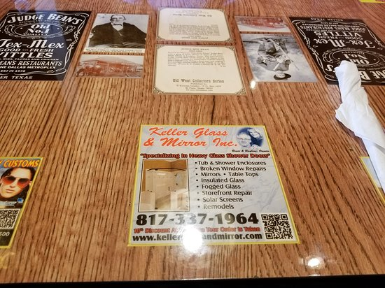 Custom Judge Beans Table Tops Picture Of Judge Beans Restaurant - Custom restaurant table tops