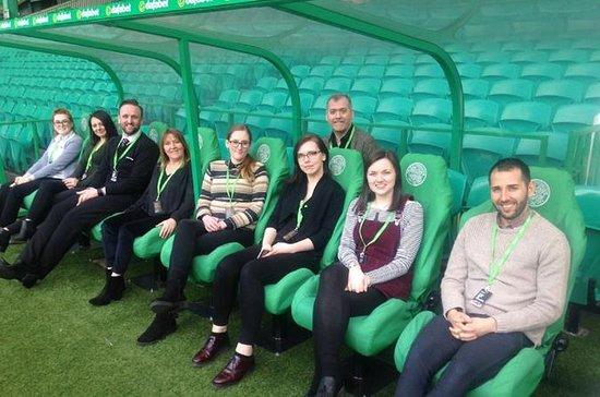 Excursão guiada pelo estádio Celtic...