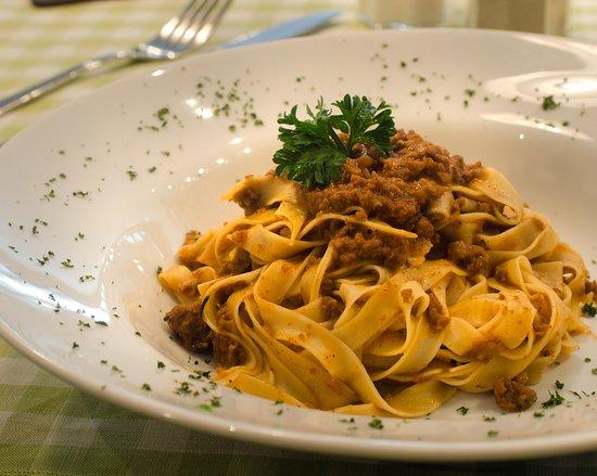 La Gastronomia Bali: Tagliatelle Al Ragu - homemade pasta, bolognese sauce, parmesan cheese
