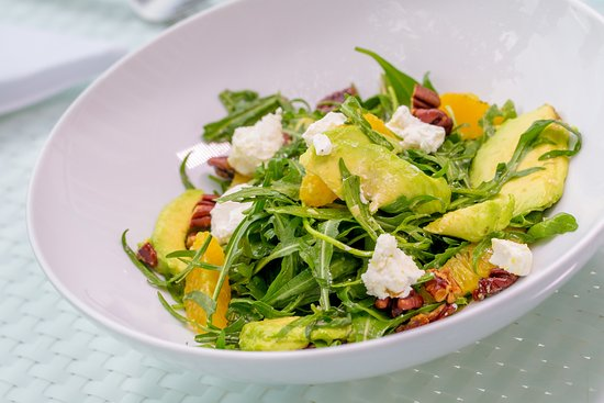 Joe's Downstairs: Wild Arugula and Goat Cheese Salad