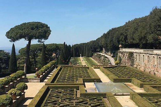 Vatikanmuseene og Castel Gandolfo...